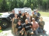 The Gang with Checkmate Martial Arts at AG Paintball