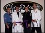 Eli and John Earn Juijitsu Purple Belt