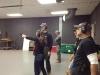 Checkmate Martial Arts firearms training-Maria, Leigh, Steve