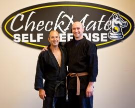 Big Brown Belt Test - Mike John Jose Richard Brian - Checkmate Martial Arts