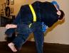 Sensei Leigh throws harai goshi