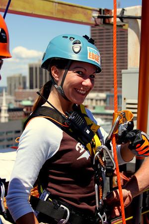 Maria over the edge