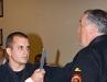 Prof Dave Castaldi Demonstrates Jujitsu Knife Defense