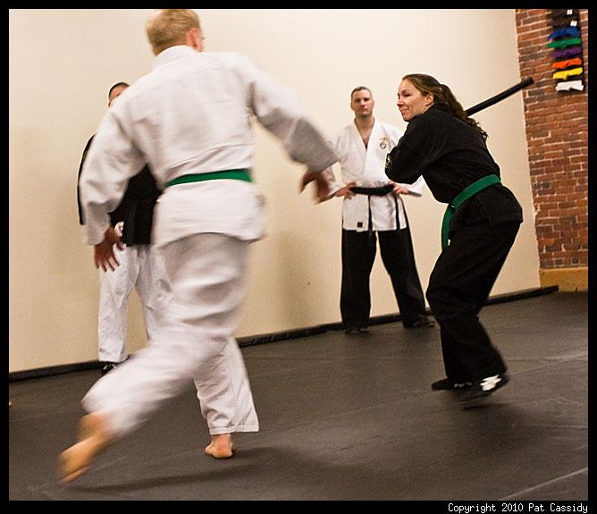 Sean Carmack Blue Belt Test - Feb 22, 2010 - Checkmate Martial Arts